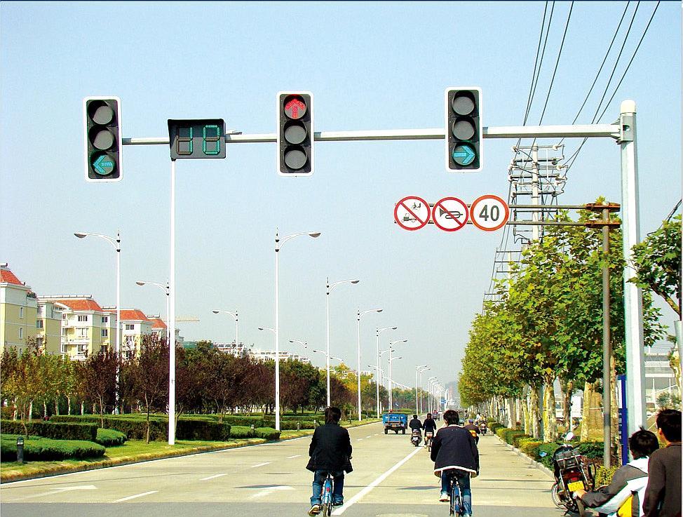 交通标志杆,交通信号杆